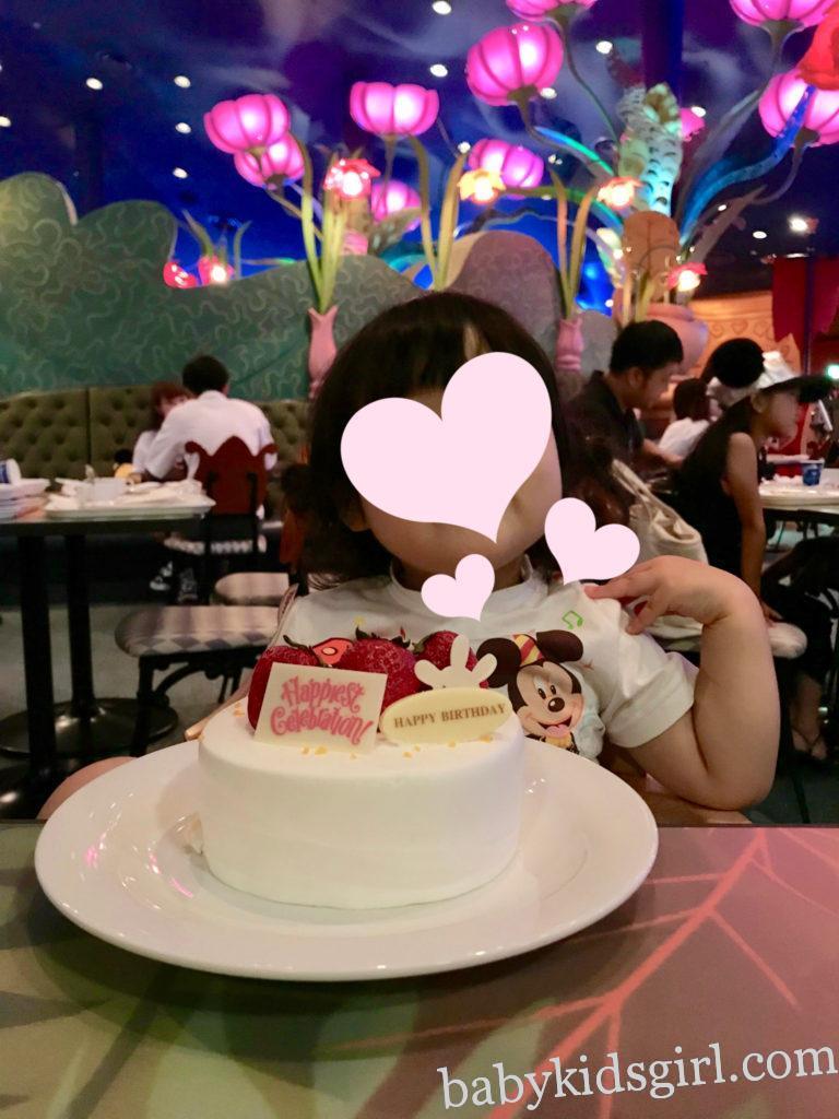 【3歳バースデーディズニーランド】お泊まりディズニーでお祝い